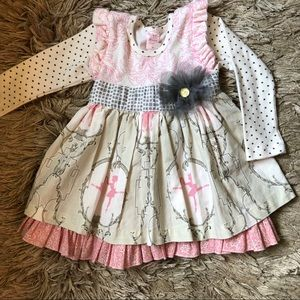Gigglemoon Dress sz 3t